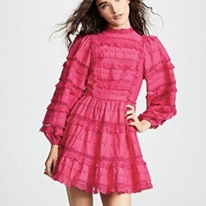 Ulla Johnson Amour Puff Sleeve Dress